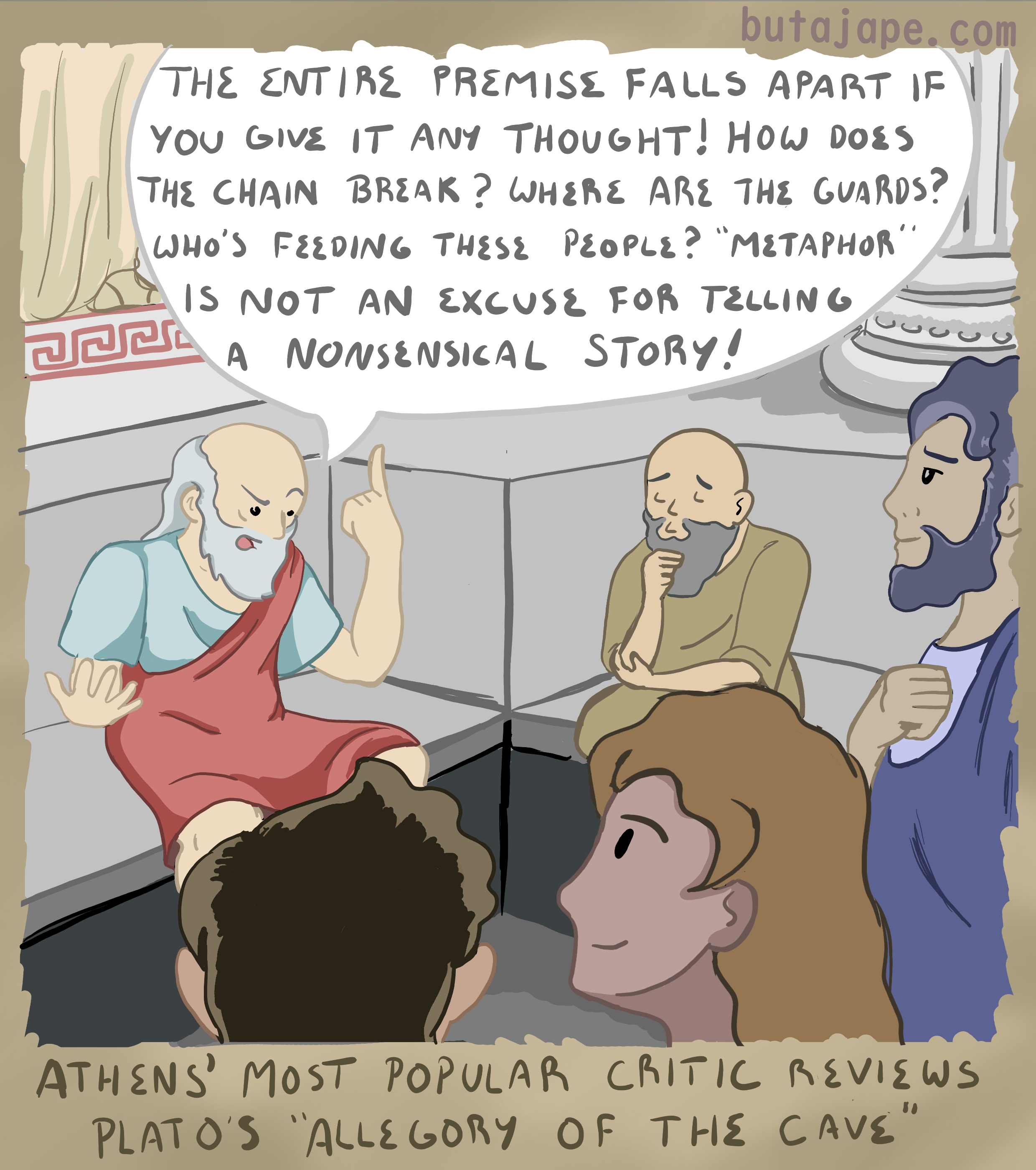 athens review comic
