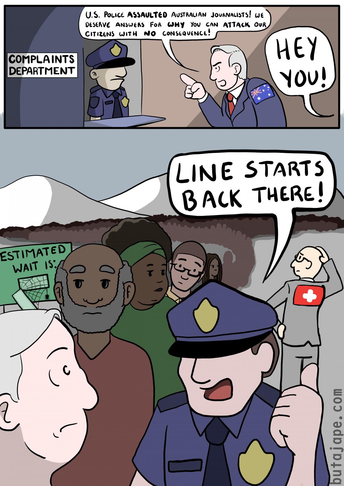 complaints comic
