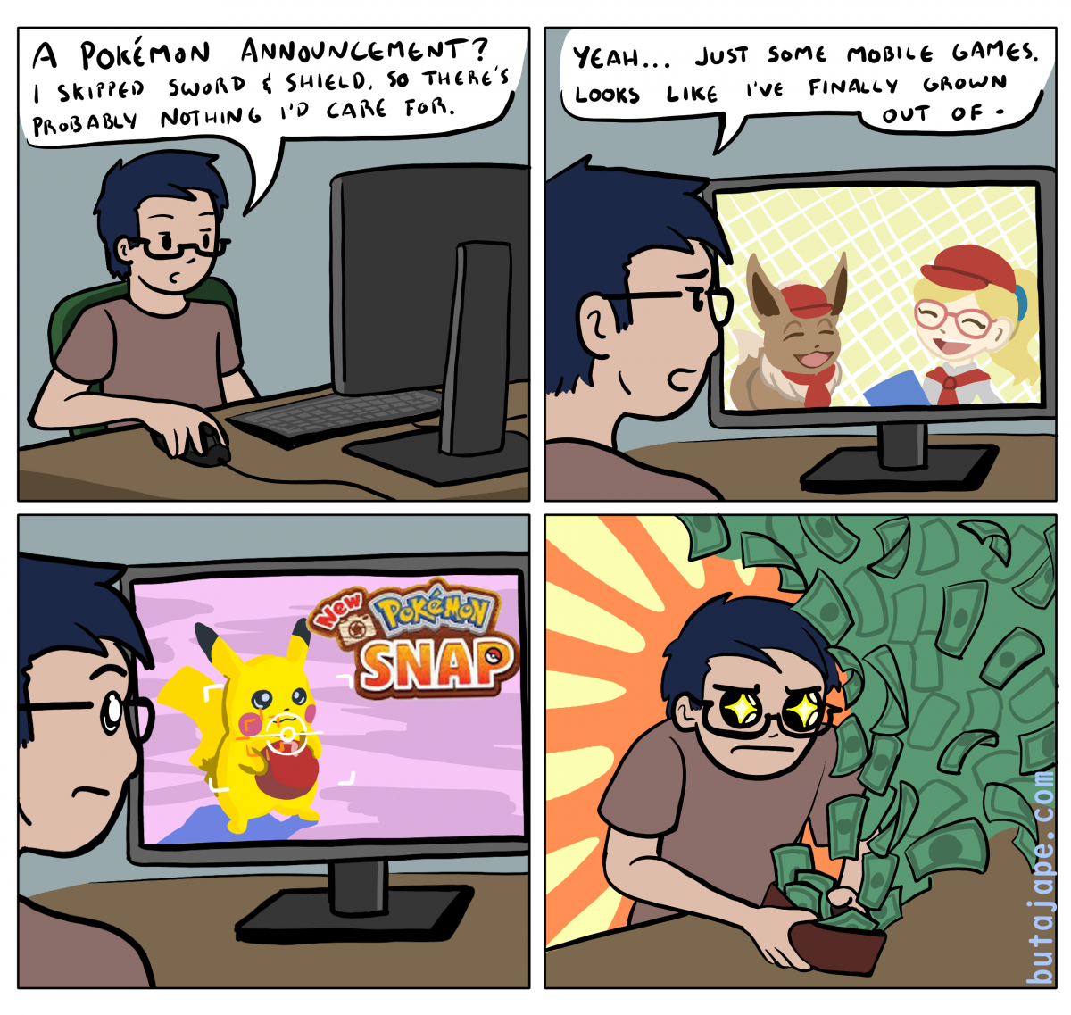 new pokemon snap comic