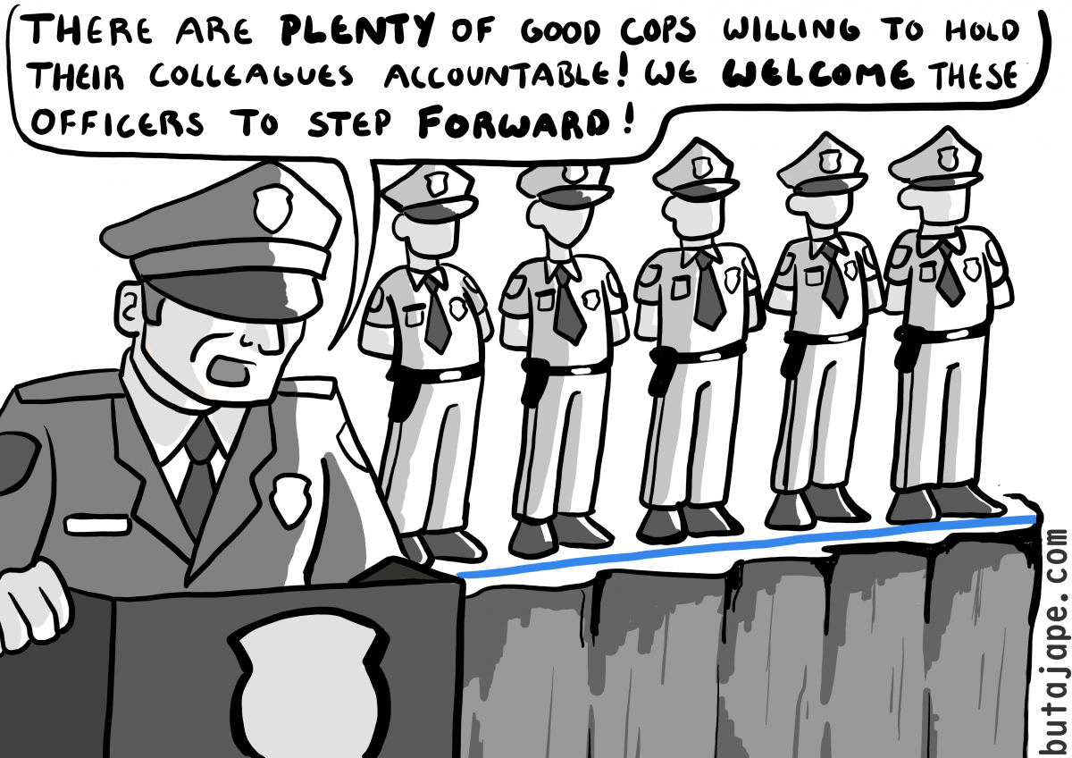 stepping forward comic