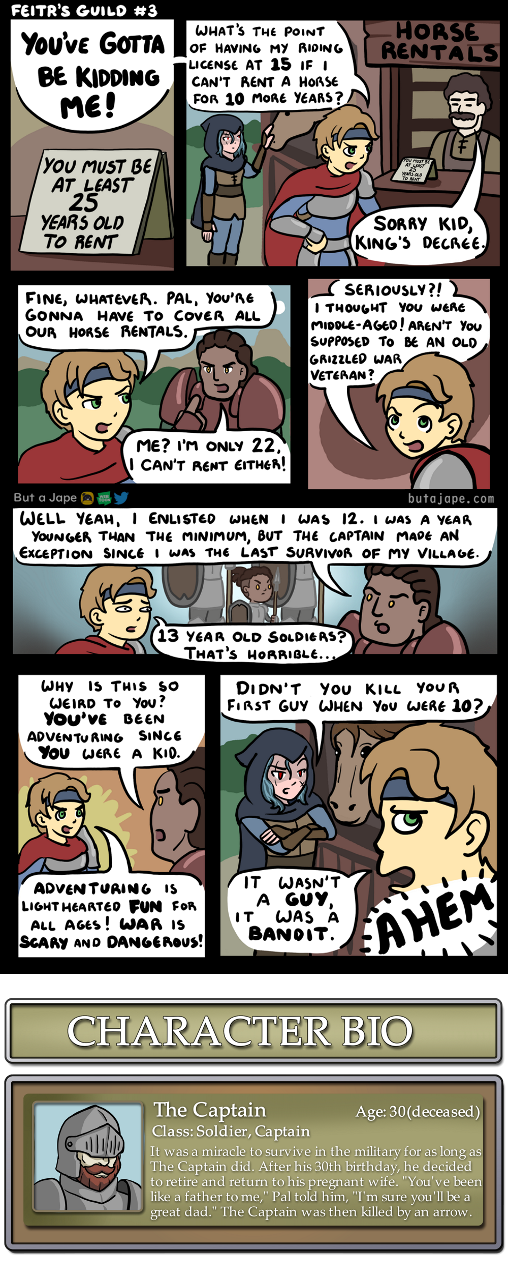 age appropriate adventuring anime ages part 1 comic
