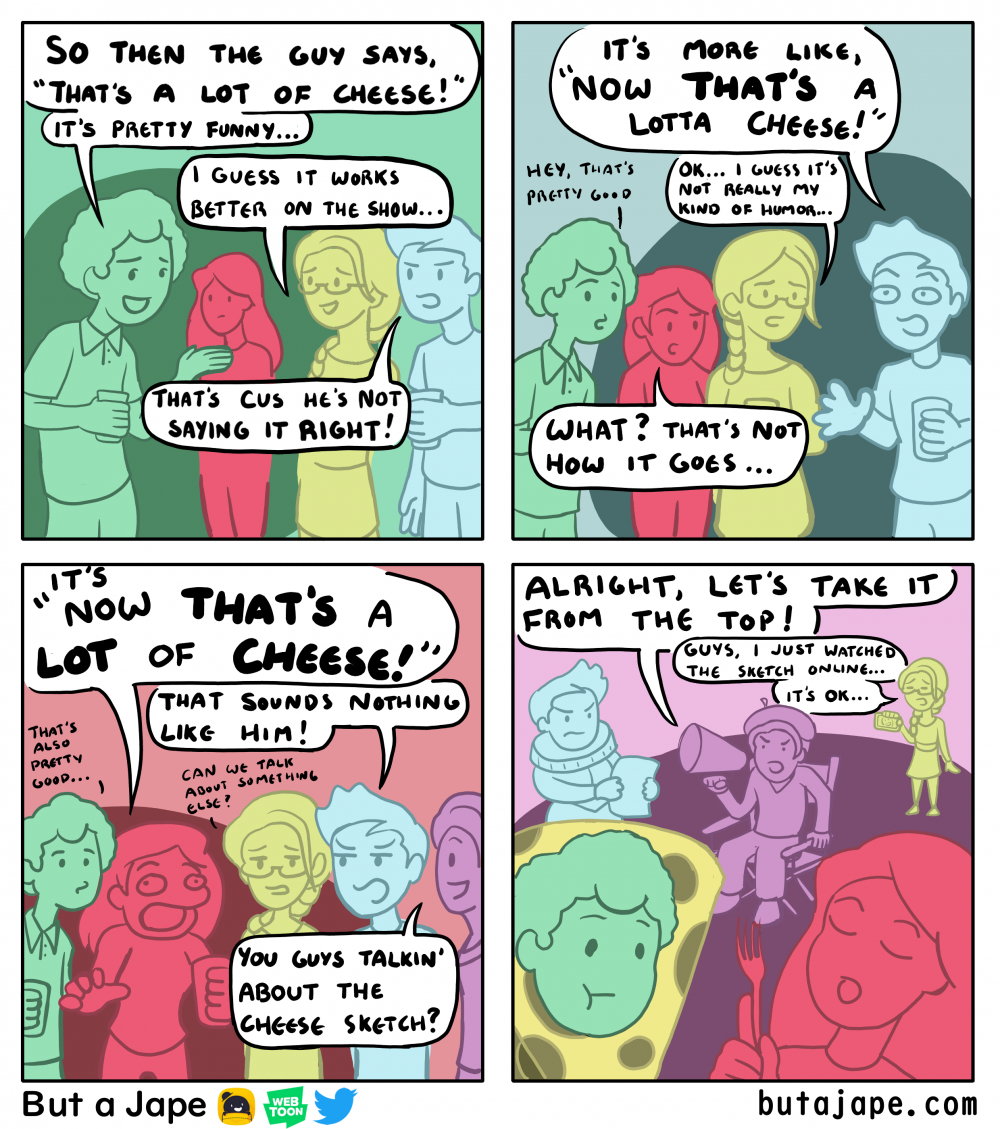 that's a lot of cheese comic