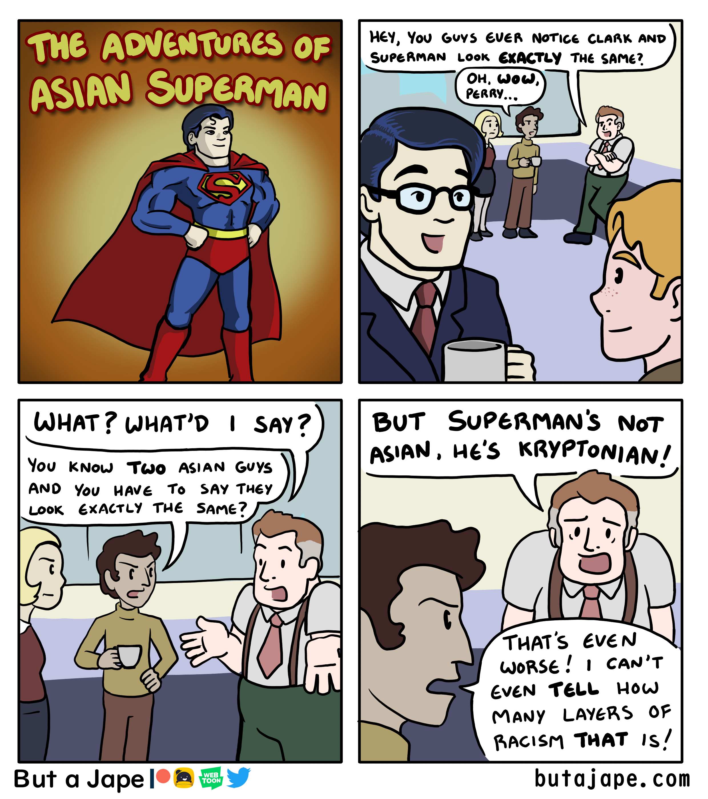 asian superman comic
