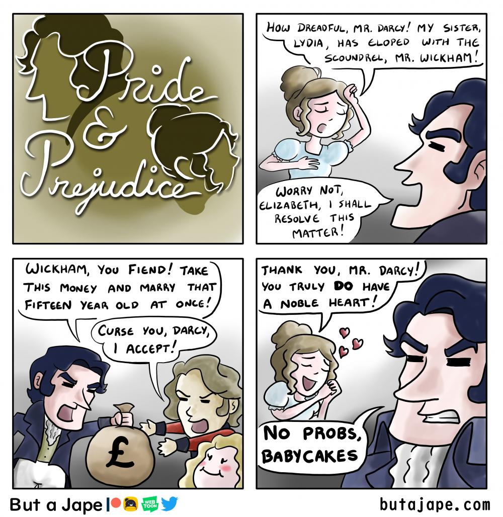 pride and prejudice comic