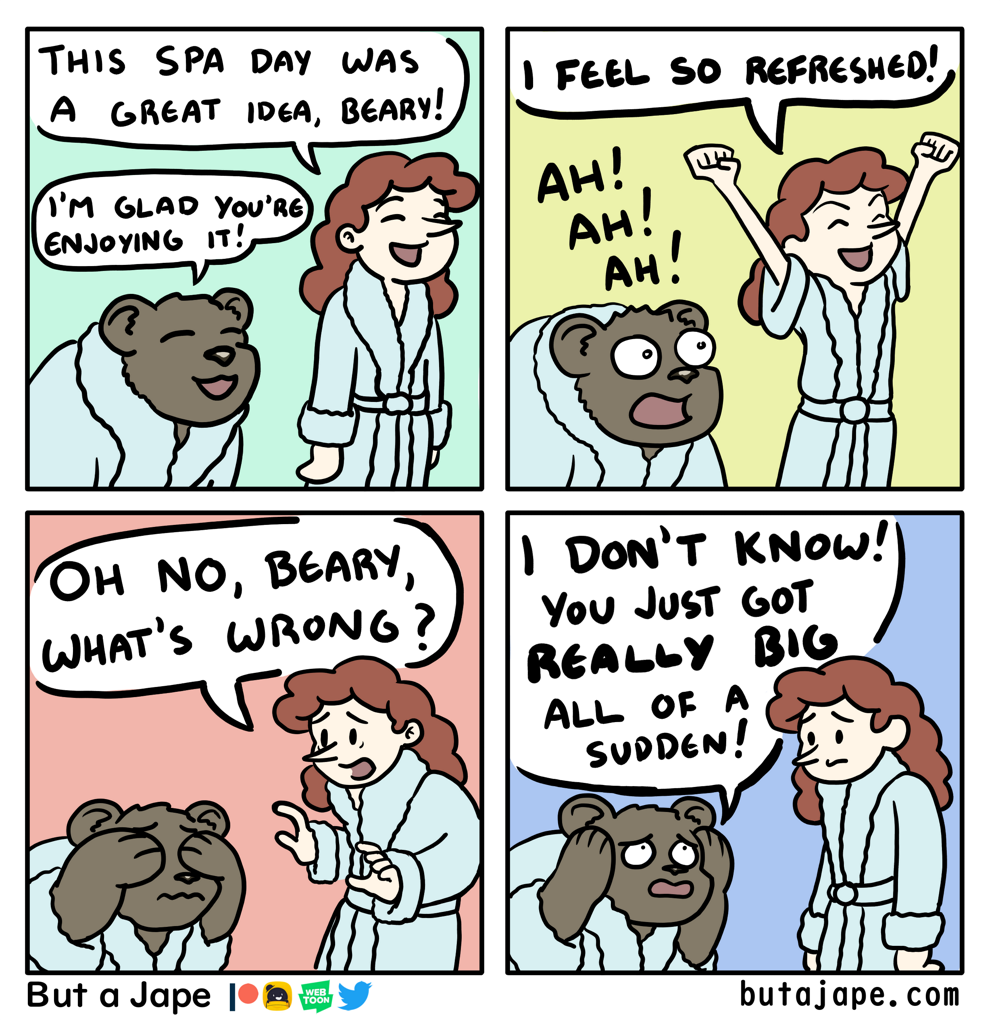 spa day comic