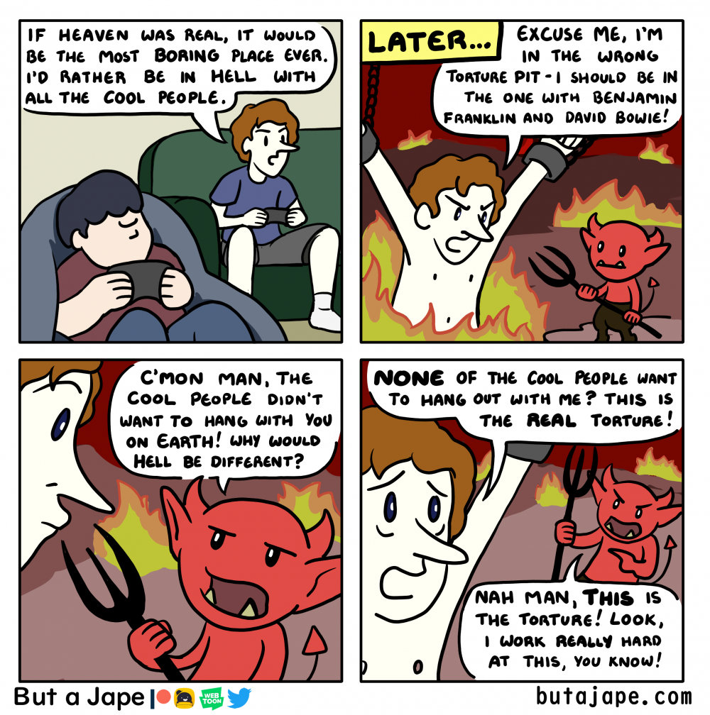 hell is cool people comic