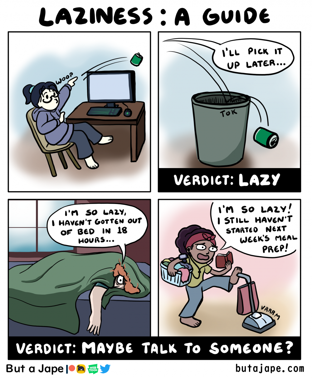 laziness comic