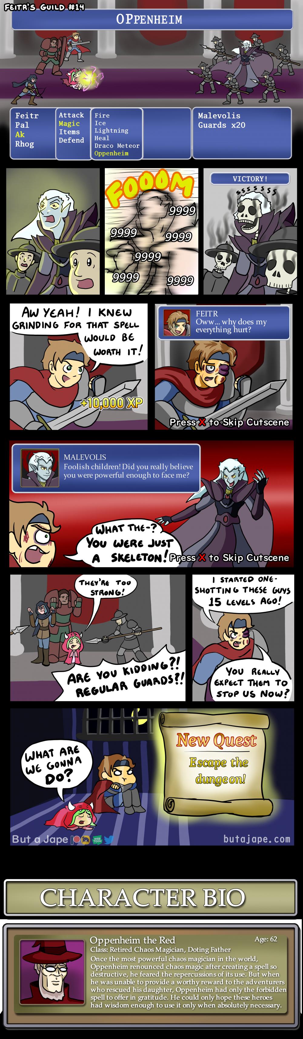 the unwinnable battle comic