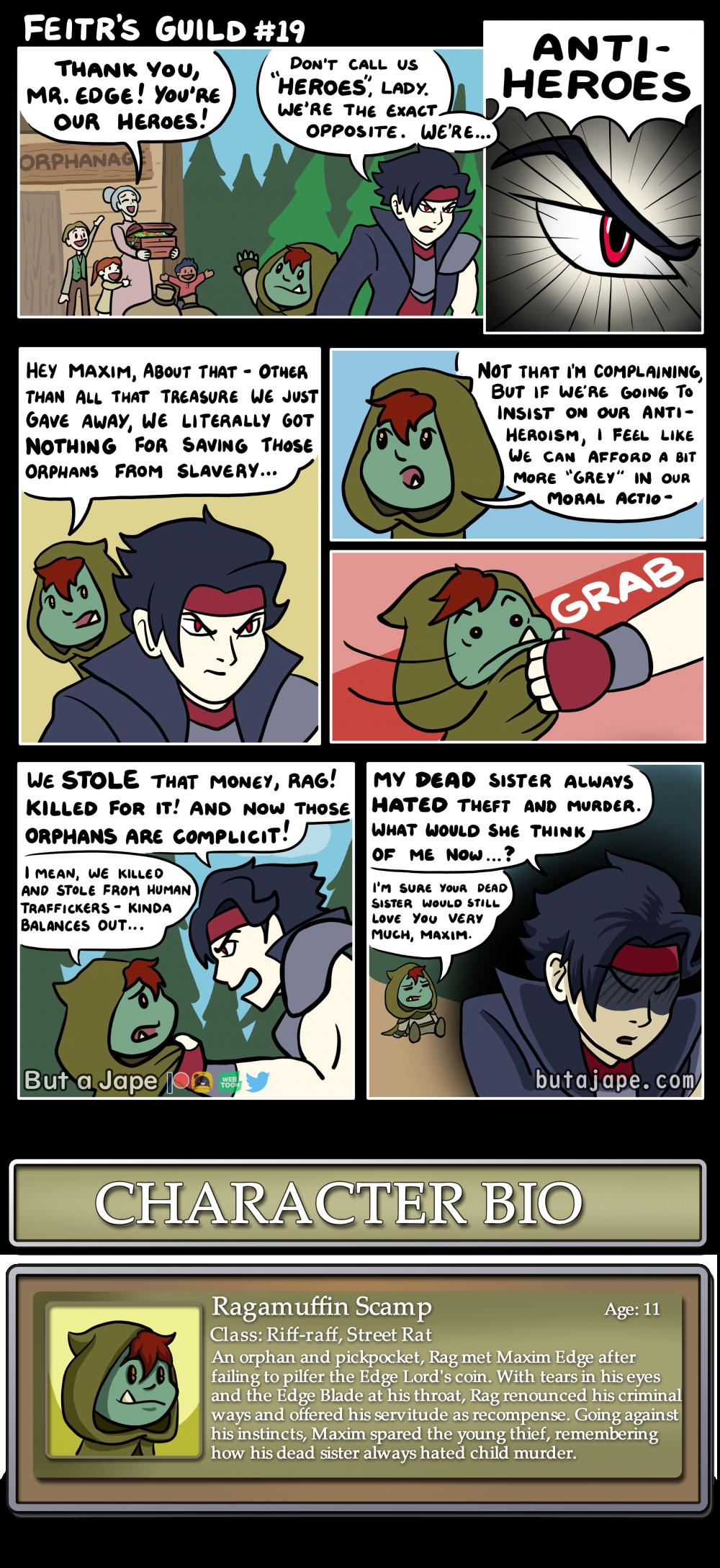 antihero comic