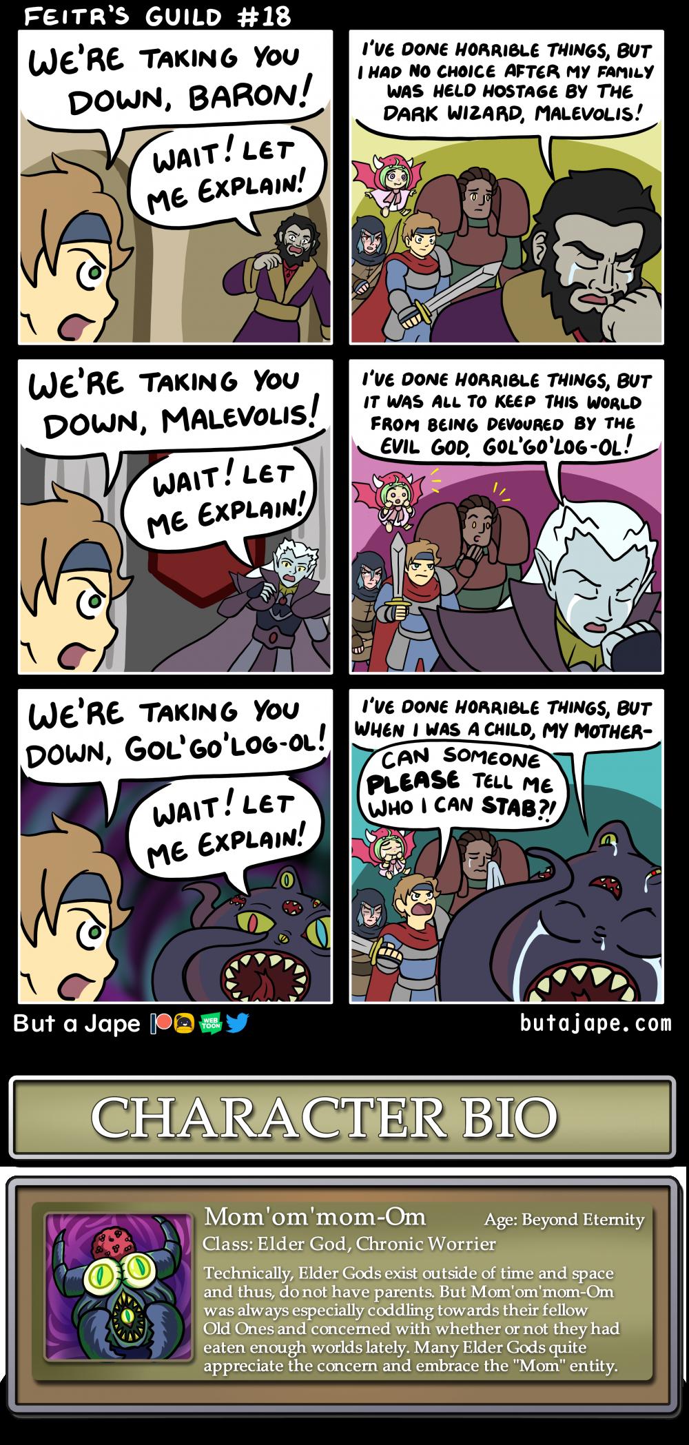 sympathy for the villain comic