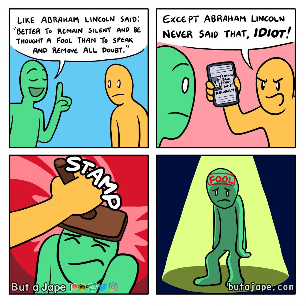 a silent fool