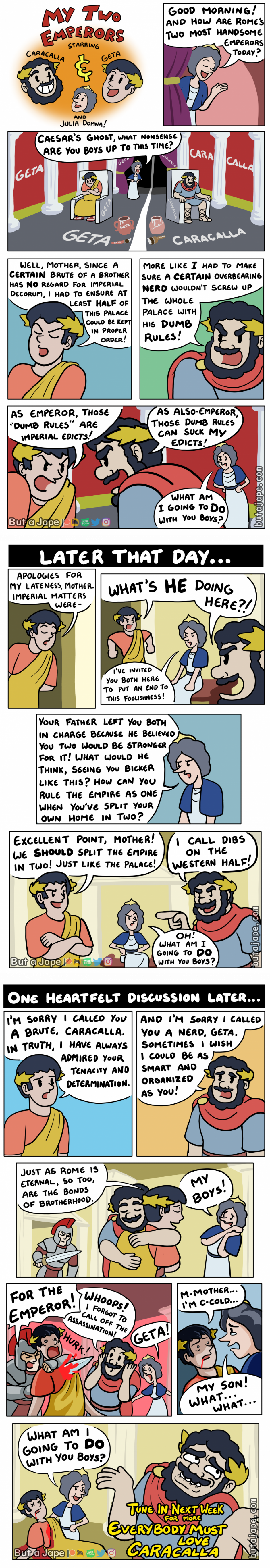 my two emperors comic