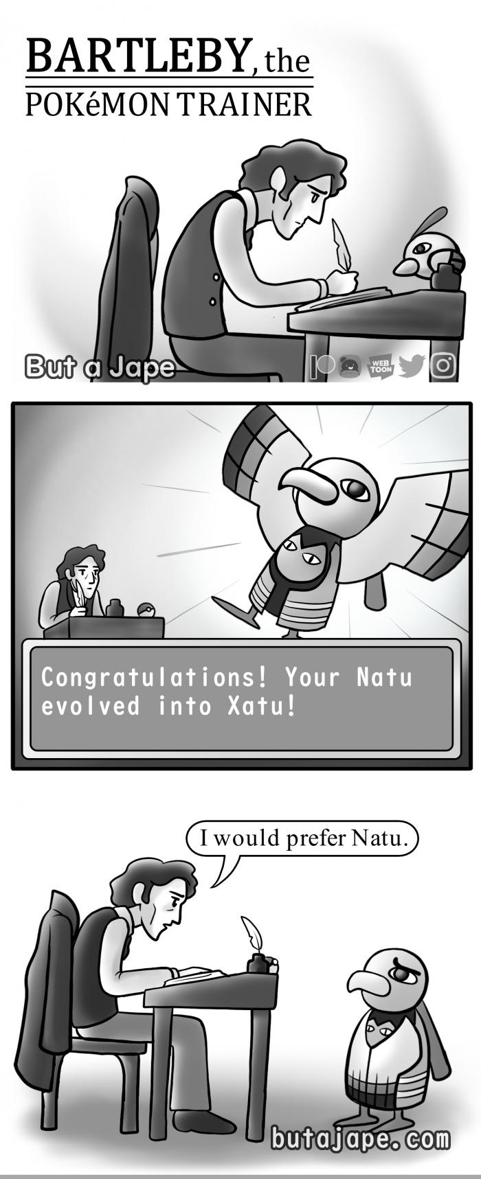 bartleby the pokemon trainer comic