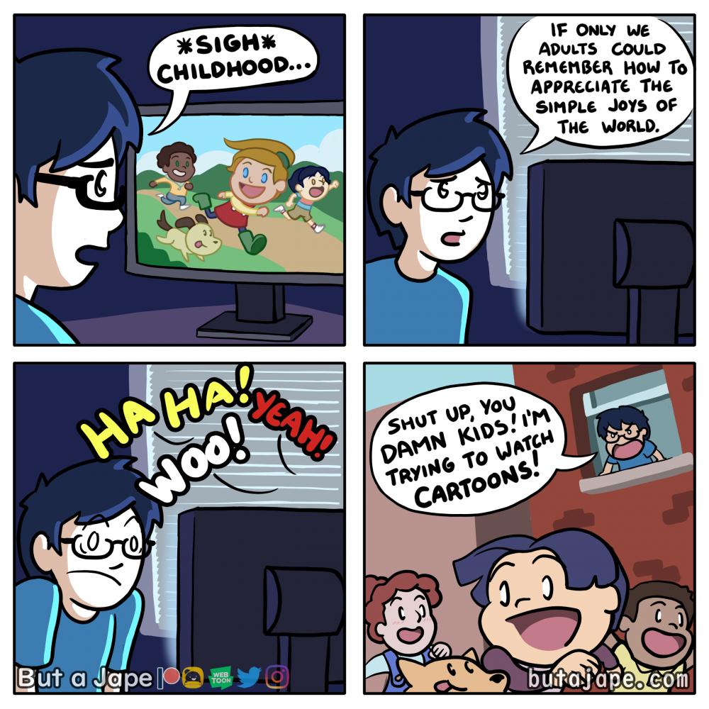 childhood comic