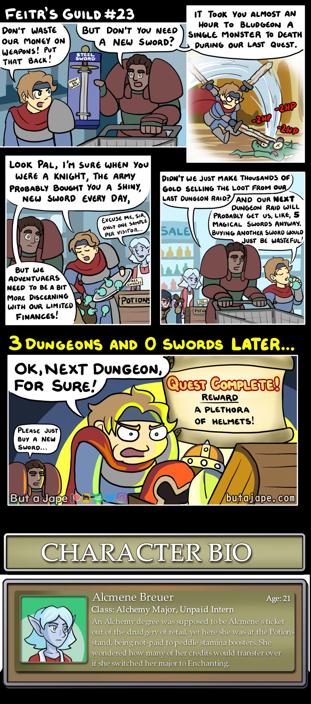 new sword comic