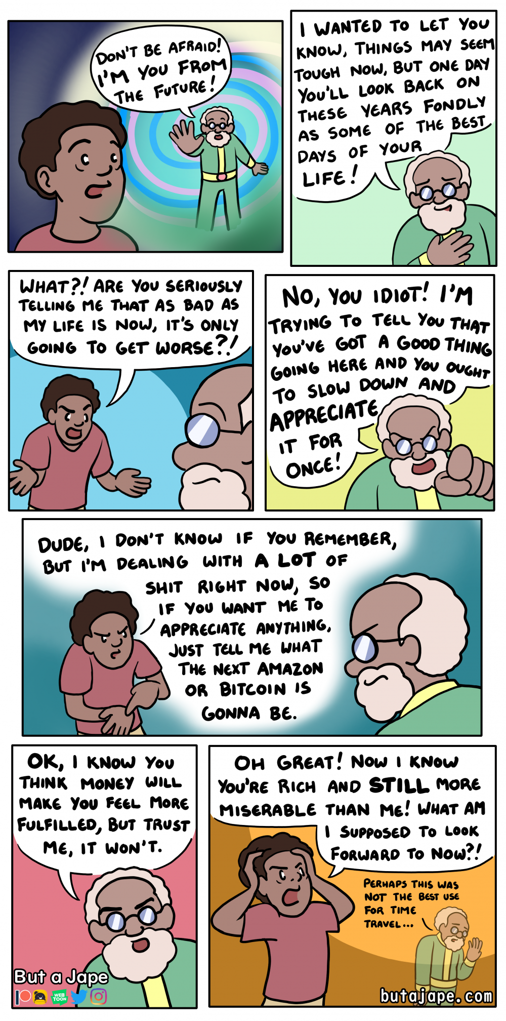 the good old days comic