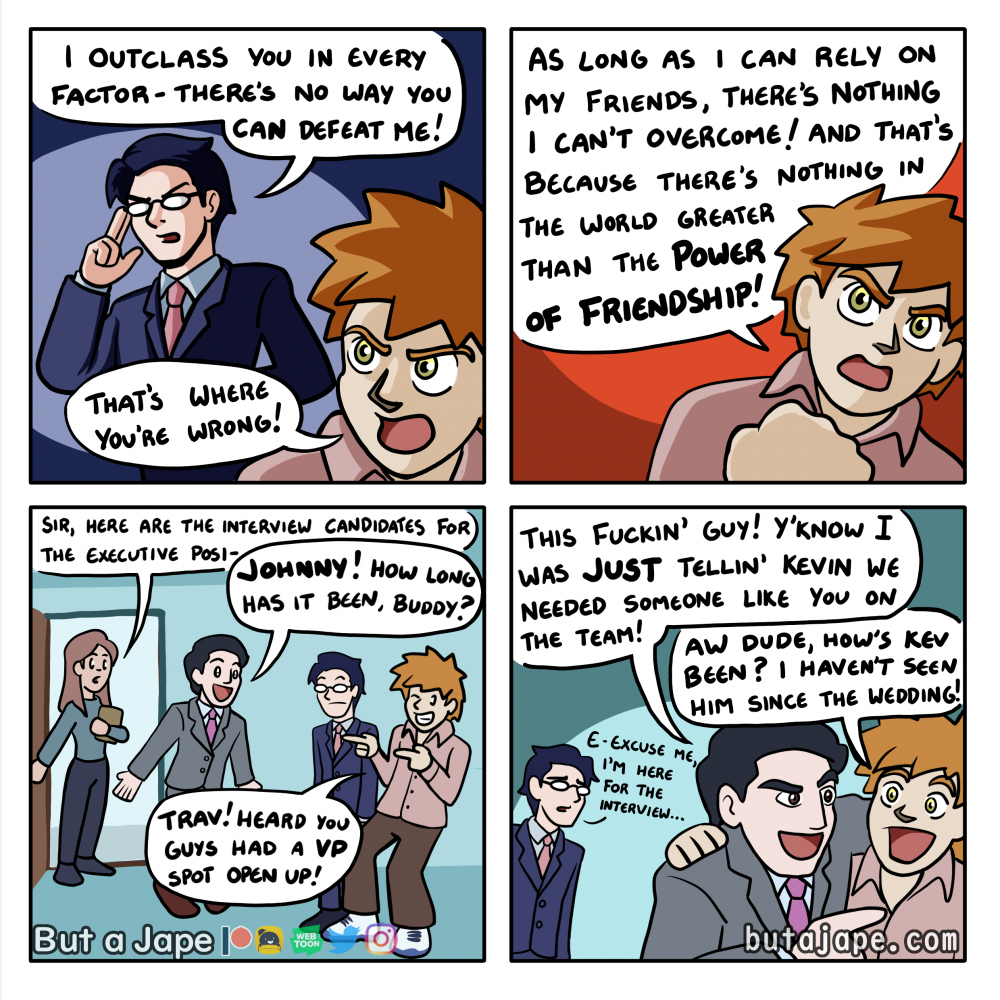 the power of friendship comic