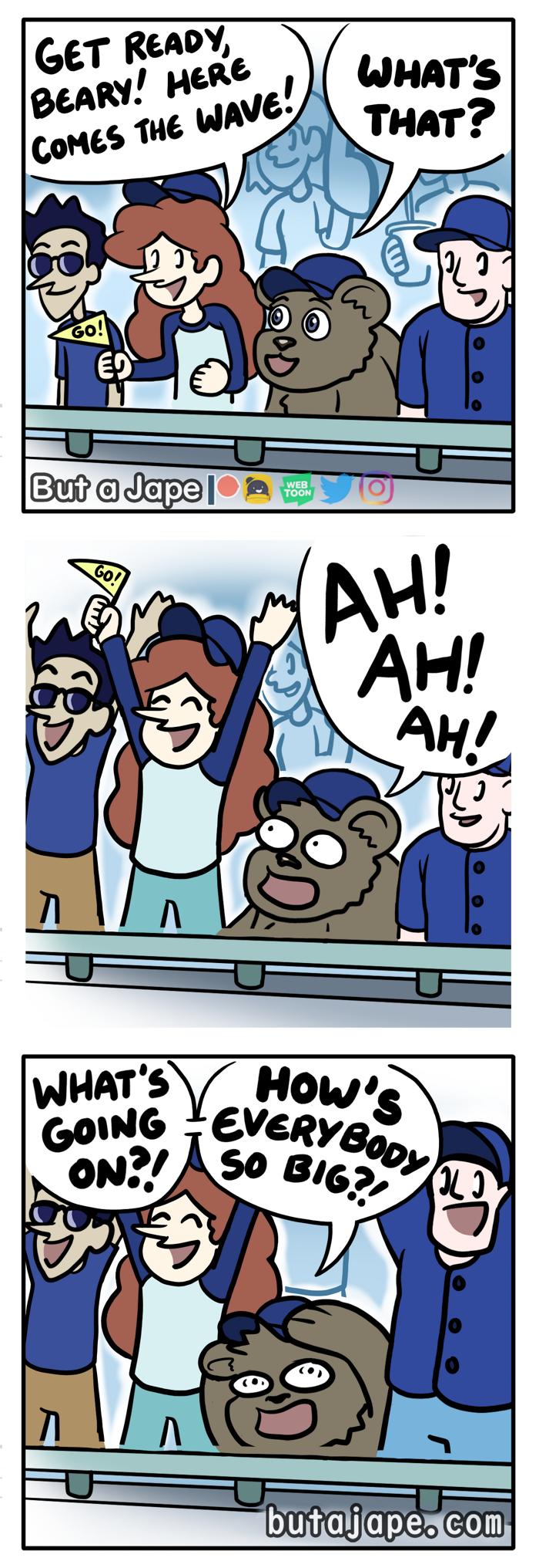 the wave comic