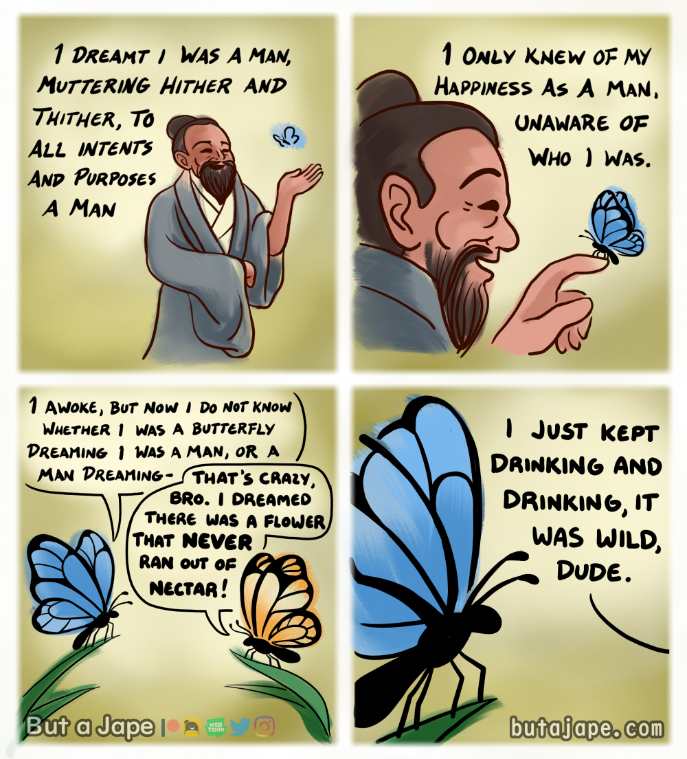 the butterfly's dream comic